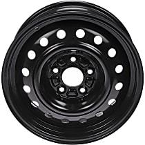 939-122 Black Finish Wheel - 16 in. Wheel Diameter X 6.5 in. Wheel Width
