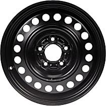 939-138 Black Finish Wheel - 16 in. Wheel Diameter X 6.5 in. Wheel Width