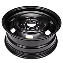 Black Finish Wheel - 16 in. Wheel Diameter X 6.5 in. Wheel Width