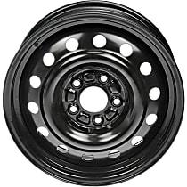 939-150 Black Finish Wheel - 16 in. Wheel Diameter X 6.5 in. Wheel Width