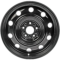 Black Finish Wheel - 17 in. Wheel Diameter X 6.5 in. Wheel Width
