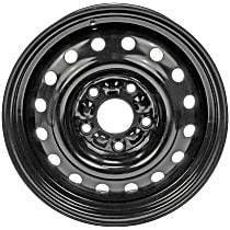 939-158 Black Finish Wheel - 16 in. Wheel Diameter X 6.5 in. Wheel Width