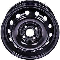 Black Finish Wheel - 14 in. Wheel Diameter X 5.5 in. Wheel Width