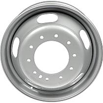 939-163 Silver Finish Wheel - 19.5 in. Wheel Diameter X 6 in. Wheel Width