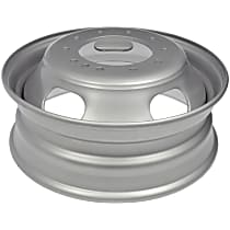 Silver Finish Wheel - 19.5 in. Wheel Diameter X 6 in. Wheel Width