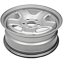 Silver Finish Wheel - 16 in. Wheel Diameter X 6.5 in. Wheel Width