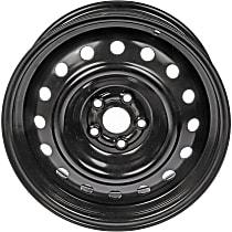 939-174 Black Finish Wheel - 16 in. Wheel Diameter X 6.5 in. Wheel Width