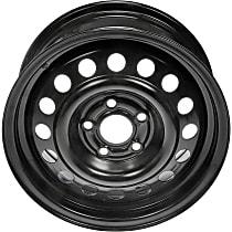Black Finish Wheel - 14 in. Wheel Diameter X 6 in. Wheel Width