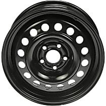939-176 Black Finish Wheel - 15 in. Wheel Diameter X 6 in. Wheel Width