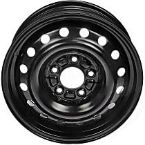 939-178 Black Finish Wheel - 15 in. Wheel Diameter X 6 in. Wheel Width