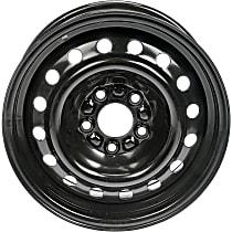 939-180 Black Finish Wheel - 15 in. Wheel Diameter X 6.5 in. Wheel Width