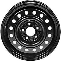 939-184 Black Finish Wheel - 16 in. Wheel Diameter X 6.5 in. Wheel Width