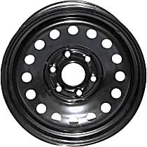 939-186 Black Finish Wheel - 17 in. Wheel Diameter X 7.75 in. Wheel Width