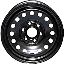 Black Finish Wheel - 17 in. Wheel Diameter X 7.75 in. Wheel Width