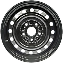 Black Finish Wheel - 15 in. Wheel Diameter X 6.5 in. Wheel Width