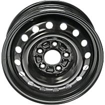 939-196 Black Finish Wheel - 15 in. Wheel Diameter X 6 in. Wheel Width