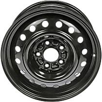 939-197 Black Finish Wheel - 16 in. Wheel Diameter X 6.5 in. Wheel Width