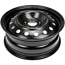 Black Finish Wheel - 16 in. Wheel Diameter X 6 in. Wheel Width