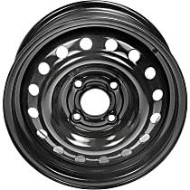 Black Finish Wheel - 15 in. Wheel Diameter X 6.5 in. Wheel Width