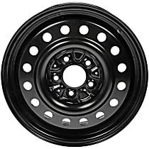939-227 Black Finish Wheel - 16 in. Wheel Diameter X 6.5 in. Wheel Width