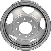 Gray Finish Wheel - 17 in. Wheel Diameter X 6.5 in. Wheel Width