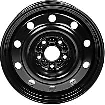 939-243 Black Finish Wheel - 17 in. Wheel Diameter X 6.5 in. Wheel Width