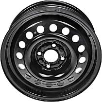 Black Finish Wheel - 15 in. Wheel Diameter X 5.5 in. Wheel Width