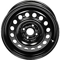 939-252 Black Finish Wheel - 15 in. Wheel Diameter X 6 in. Wheel Width