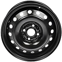 Black Finish Wheel - 15 in. Wheel Diameter X 5 in. Wheel Width