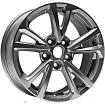 939-659 Silver Finish Wheel - 17 in. Wheel Diameter X 7 in. Wheel Width