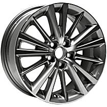 Gray Finish Wheel - 16 in. Wheel Diameter X 6.5 in. Wheel Width