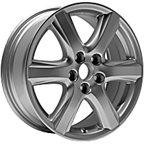Gray Finish Wheel - 17 in. Wheel Diameter X 7 in. Wheel Width