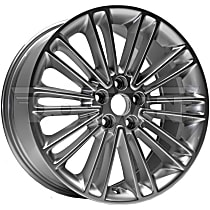 Silver Finish Wheel - 18 in. Wheel Diameter X 8 in. Wheel Width