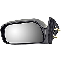 Driver Side Non-Heated Mirror - Power Glass,, Black