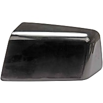 Mirror Cover - Driver Side, Black, Plastic, Direct Fit, Sold individually