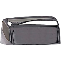 Mirror Cover - Passenger Side, Chrome, Plastic, Direct Fit, Sold individually