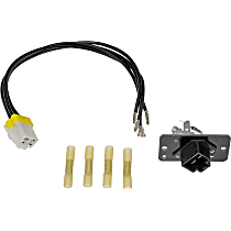Blower Motor Connector Kit For 2007-2017 Ford Expedition; HVAC Blower Motor Res