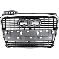 Grille Assembly - Gray Shell with Primed Insert