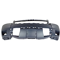 Bumper Cover - Front, 1 Piece, Primed, For Models With Off Road Package (Rectangular Fog Lamps)