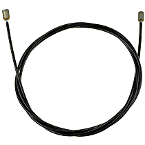 Parking Brake Cable - Direct Fit, Sold individually Intermediate