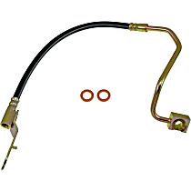 Dorman First Stop Brake Hose - EPDM rubber, Direct Fit, Sold individually Rear, Passenger Side