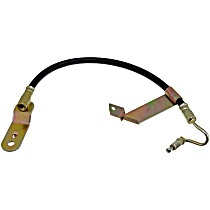 Dorman First Stop Brake Hose - EPDM rubber, Direct Fit, Sold individually Rear, Driver Side