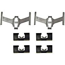 HW13222 Brake Hardware Kit - Direct Fit, Kit