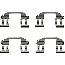 Brake Hardware Kit - Direct Fit, Set of 4