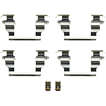 Dorman HW13318 Brake Hardware Kit - Direct Fit, Set of 4