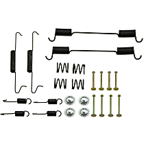 Brake Hardware Kit - Direct Fit, Kit Rear