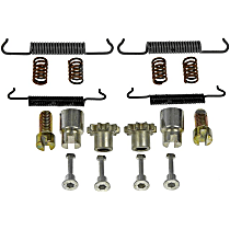 HW17431 Brake Hardware Kit - Direct Fit, Kit