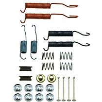 HW7027 Brake Hardware Kit - Direct Fit, Kit