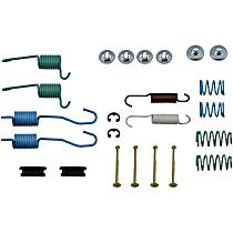 HW7104 Brake Hardware Kit - Direct Fit, Kit