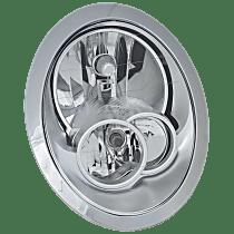 Driver Side Halogen Headlight, With bulb(s) - w/o Headlight Washer